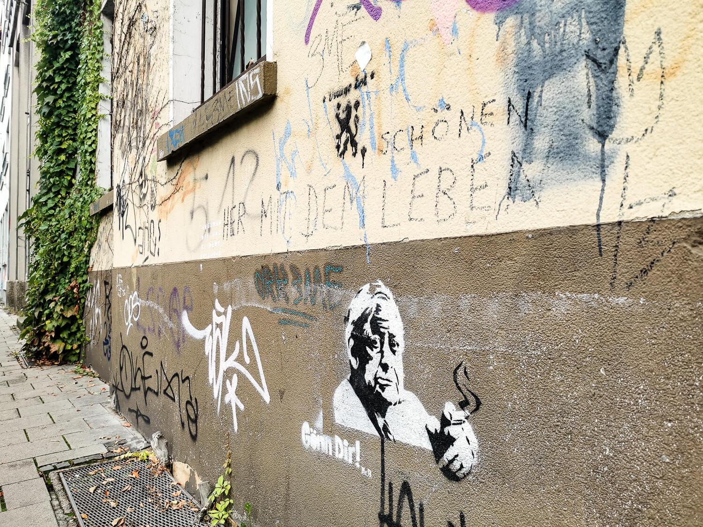 Streetart im Nauwieser Viertel