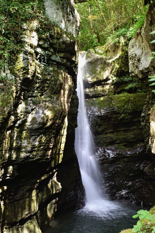 Der Kozjak-Wasserfall