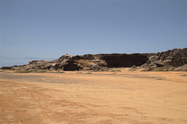 Landschaft um den Grapefield Beach