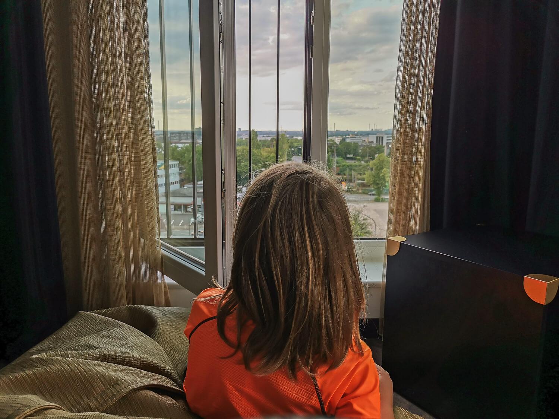 Ausblick aus dem Hotelzimmer genießen