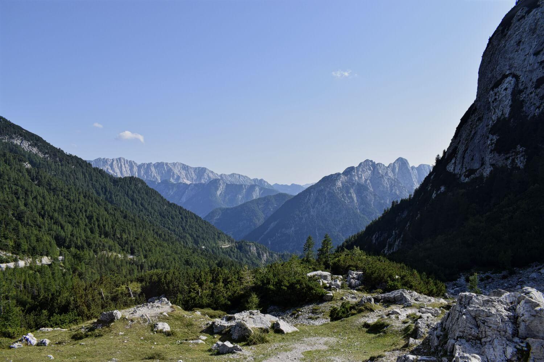 Am höchsten Punkt des Vršič Passes