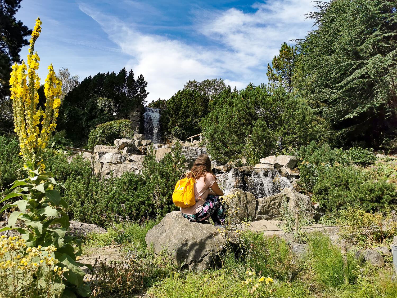 Wasserfall im Grugapark