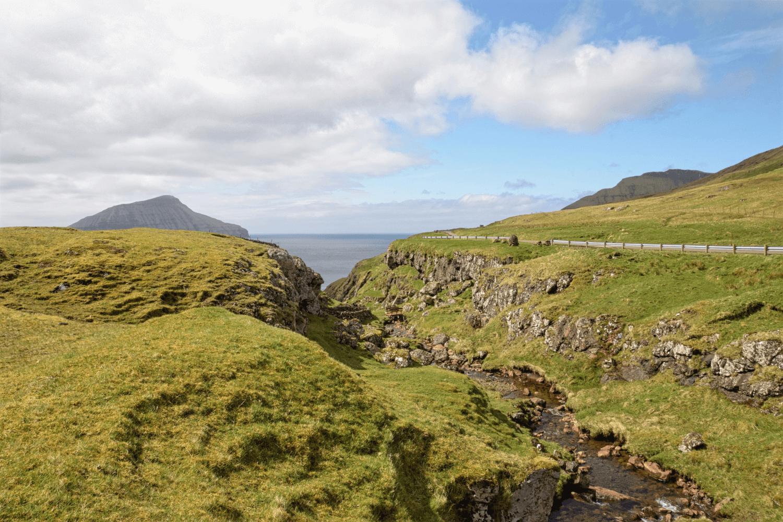 Die Schlucht bei Norðradalur