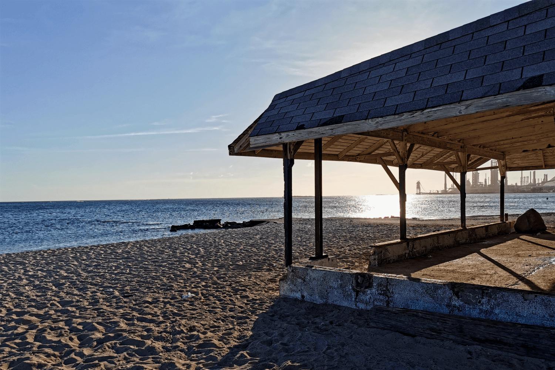 Auch zum Sonnenuntergang ein herrlicher Ort: Roger's Beach
