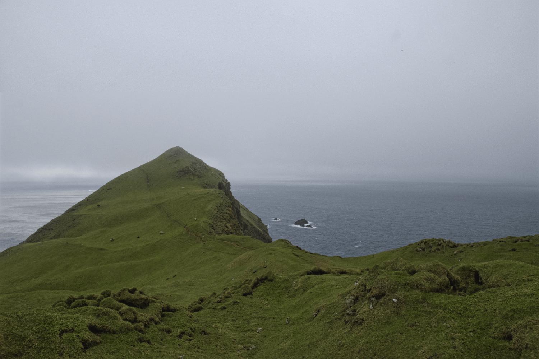 Wanderung Richtung Mykineshólmur