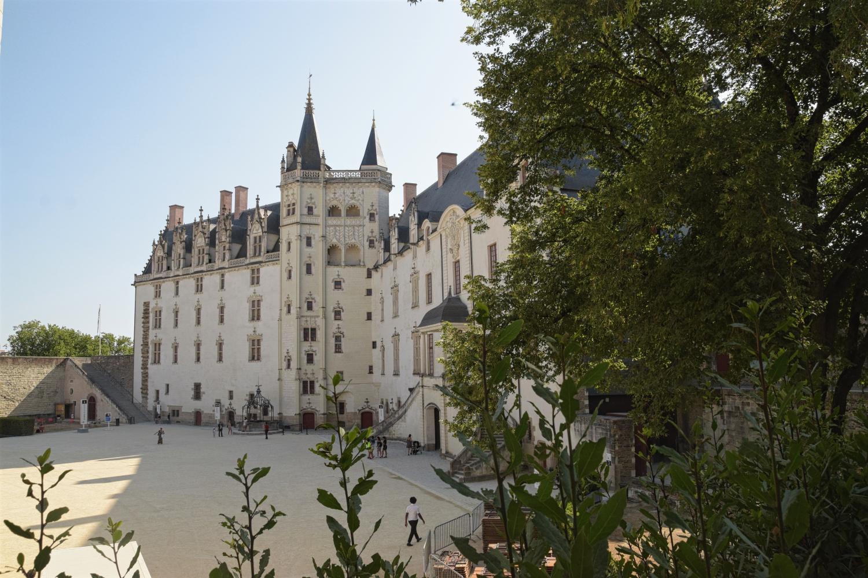 Das Schloss von Nantes