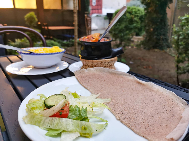 Hauptgang: Sukini (Gemüseeintopf mit Zucchini)