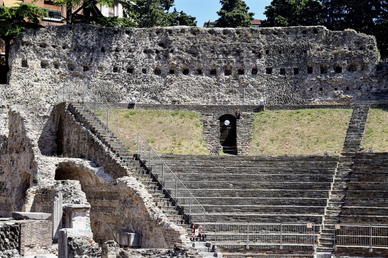 Das Römische Theater von Trieste
