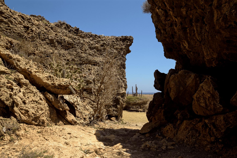 In der Nähe des Fontein Caves