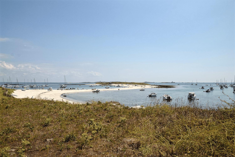 Inselfeeling vor der Küste Frankreichs