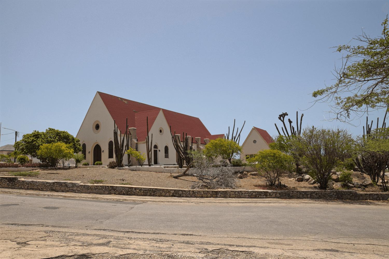 Eine Kirche auf Aruba in der Nähe des Roger's Beach