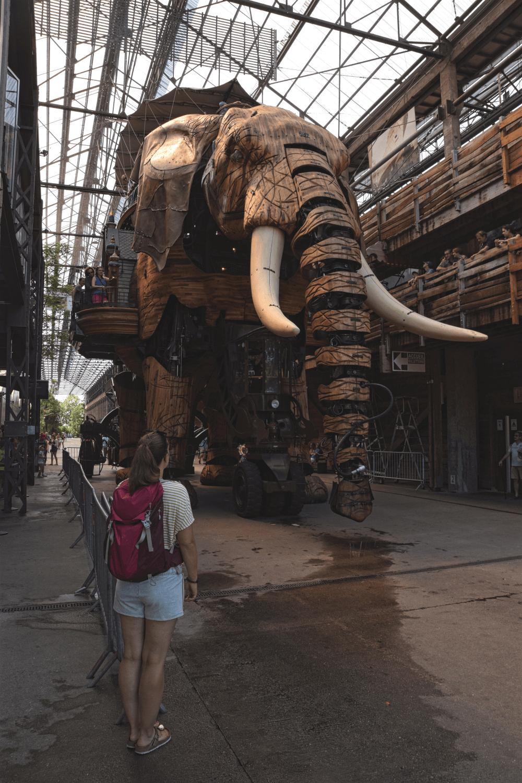Das Maskottchen Nantes: der Grande Eléphant