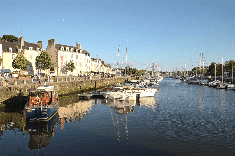 Der Hafen von Vannes