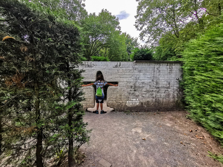 Labyrinth im Grugapark