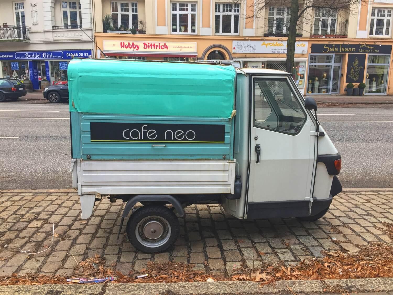 Unbedingte Empfehlung: das Café Neo