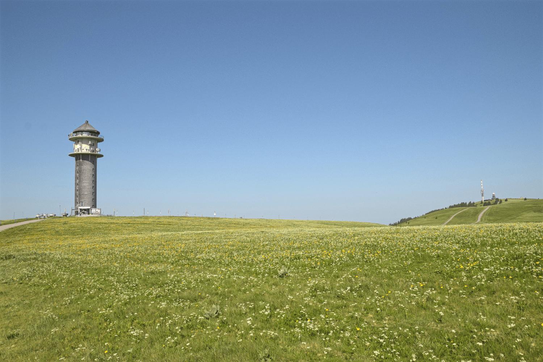 Aussichtsturm auf dem Feldberg