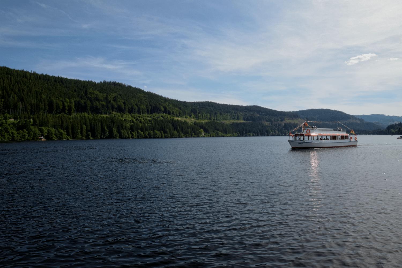 Bootsfahrt auf dem Titisee