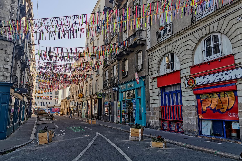 Rue Léon Jamin in der Nähe des Tour Bretagne