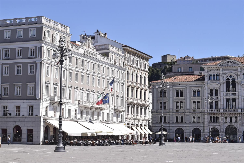 Die Piazza Unità d'Italia
