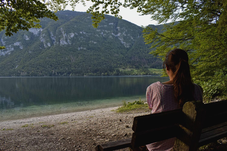 Bohinj-See: Ganz für mich allein