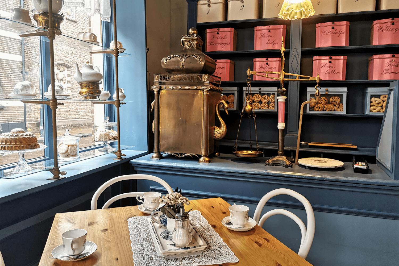 Das Café im Bäckereimuseum