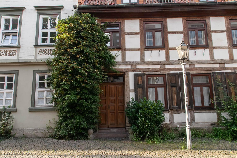 Fachwerkhaus in der Paulinerstraße