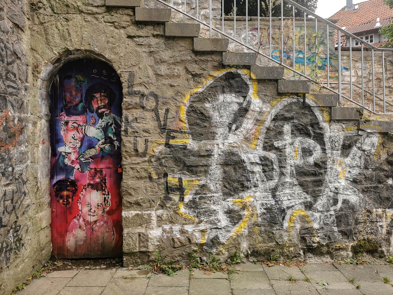 Streetart in der Hospitalstraße