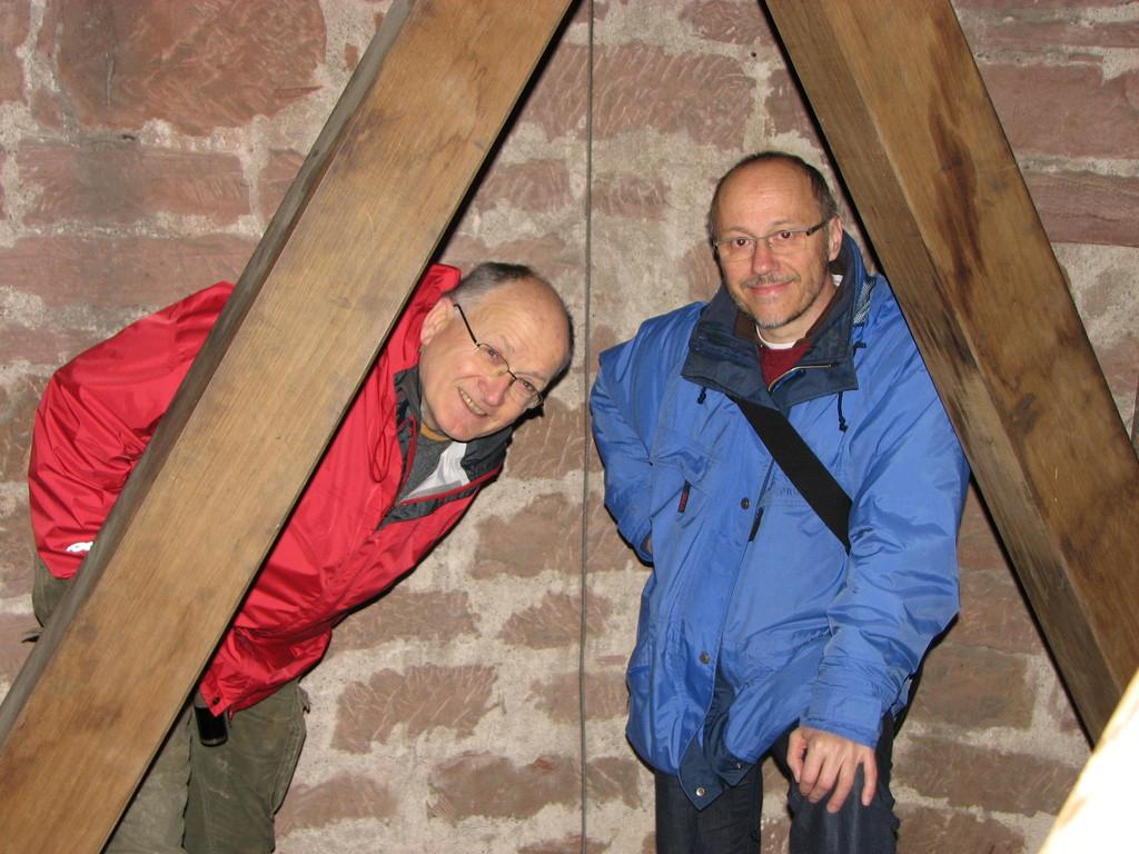 Edmund Hensle und Manfred Ehrler