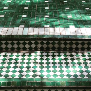 colourful tiling