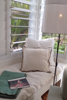 Day bed with Caravane Linen topper