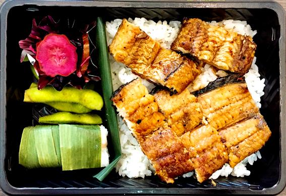淀川産天然鰻の鰻重弁当