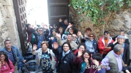 all'ingresso del castello MURAT di Pizzo