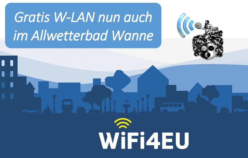Free WLAN in der Wanne!