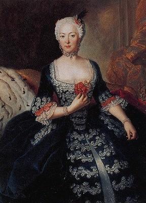 王妃エリーザベト・クリスティーネ(アントワーヌ・ペーヌ作1739年)