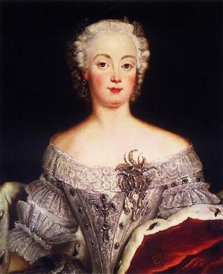 エリーザベト・クリスティーネ(アントワーヌ・ペーヌ作1740年)