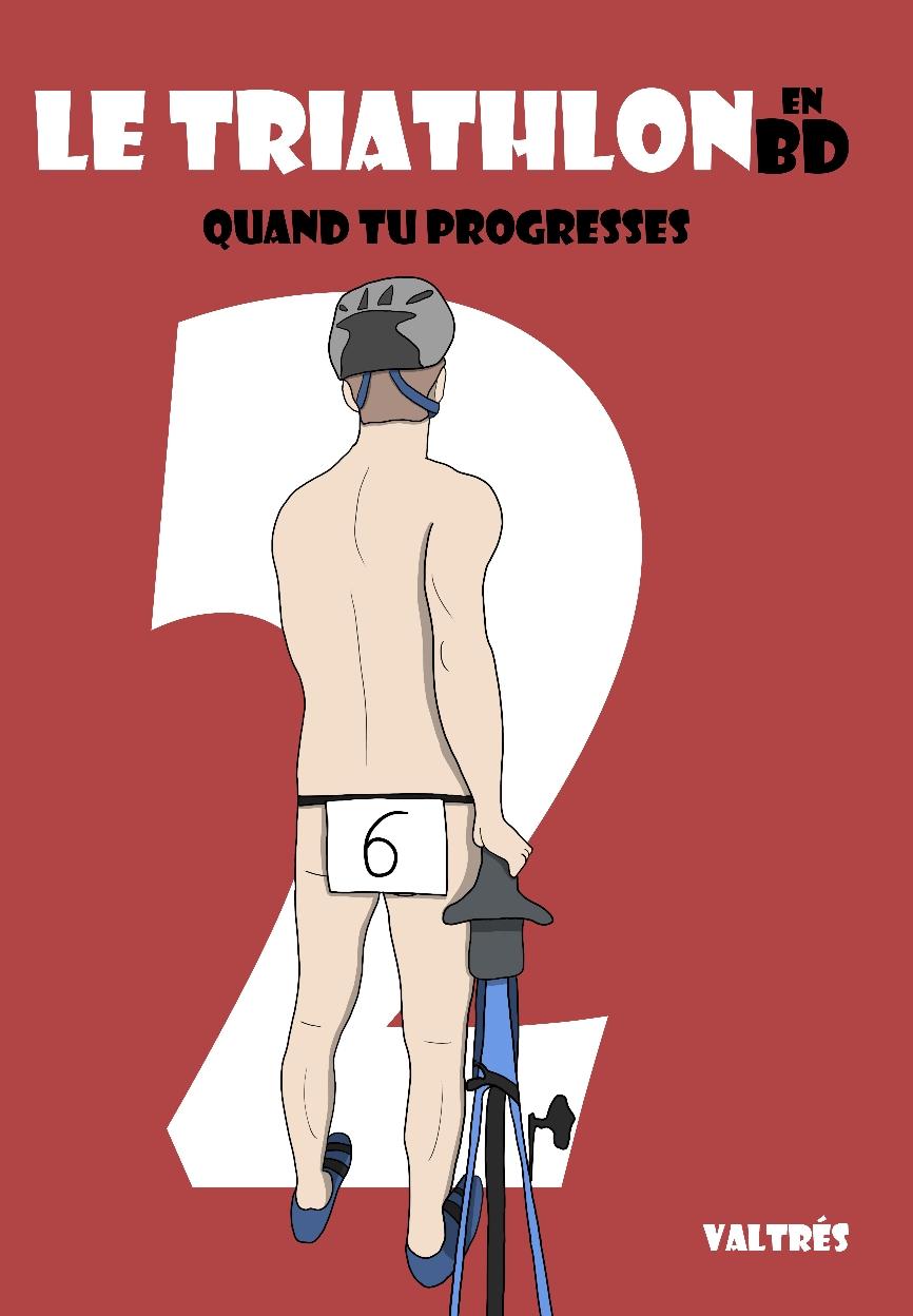 Couverture BD triathlon tome 2