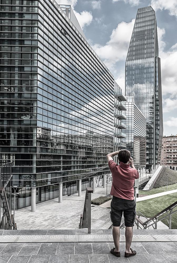 Gianni Maffi - Torre Diamante - Viale della Liberazione, Milano (2014)