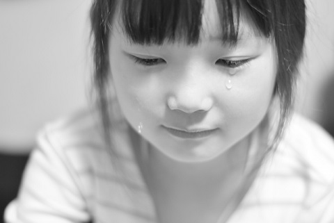 子どもの涙