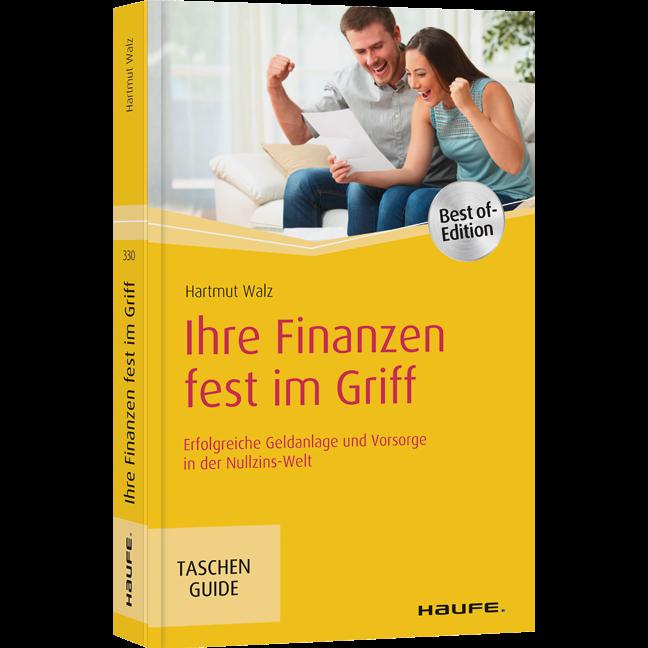 """Finanzbuch: """"Ihre Finanzen fest im Griff"""" von Hartmut Walz"""