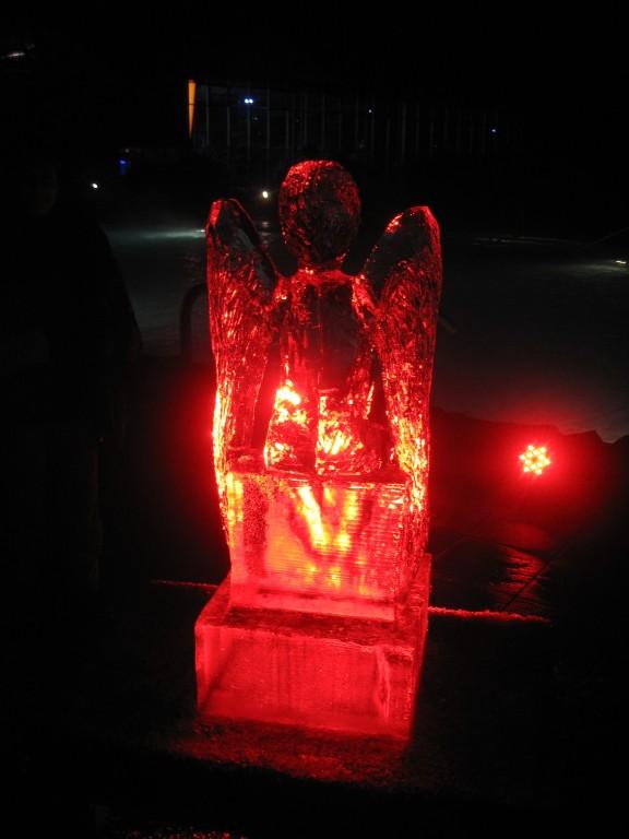 Engel am 17. Dezember 2011 - hier von hinten!