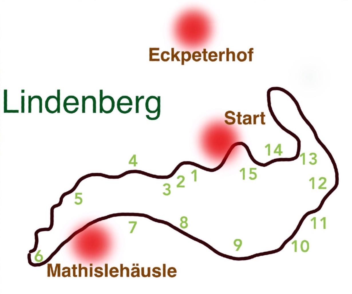 Ausgangspunkt: Eckpeterhof, Lindenbergstraße 14a, 79271 St. Peter
