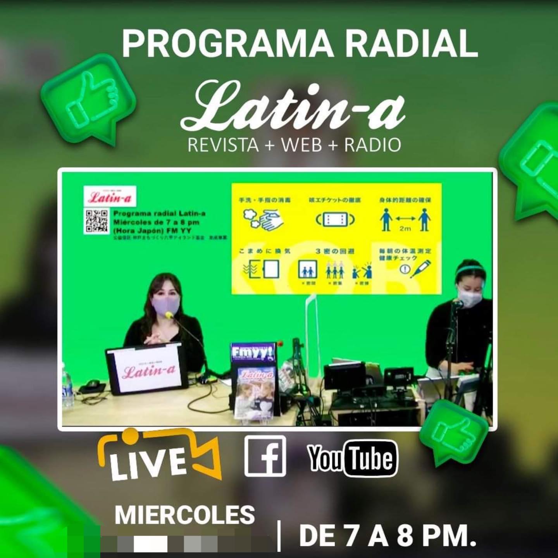 ◆◆Programa radial Latin-a, 13 octubre ◆◆