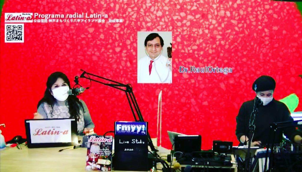 ◆◆ Programa radial Latin-a,el Dr. Raúl Ortega explica sobre el nuevo coronavirus, las nuevas cepas y la situación en Japón ◆◆