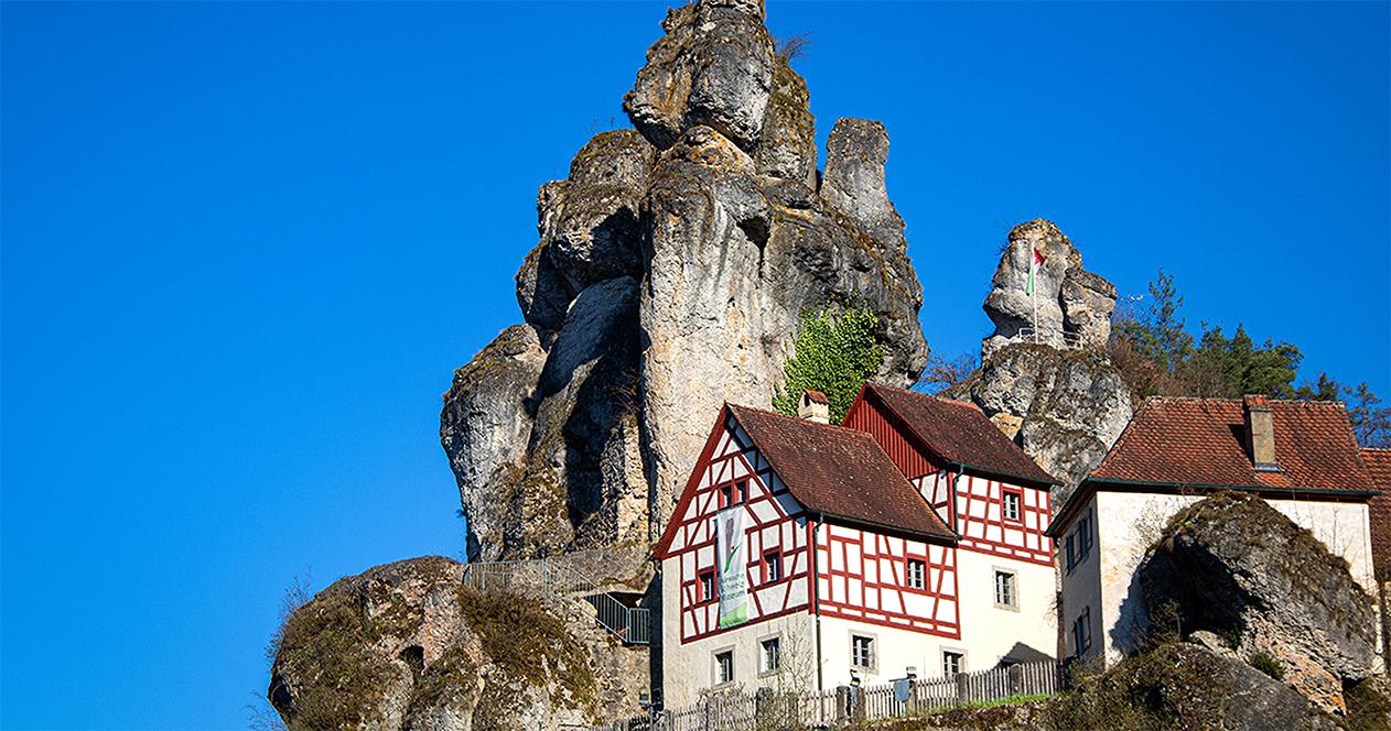Rund um das Felsendorf Tüchersfeld, Fränkische Schweiz