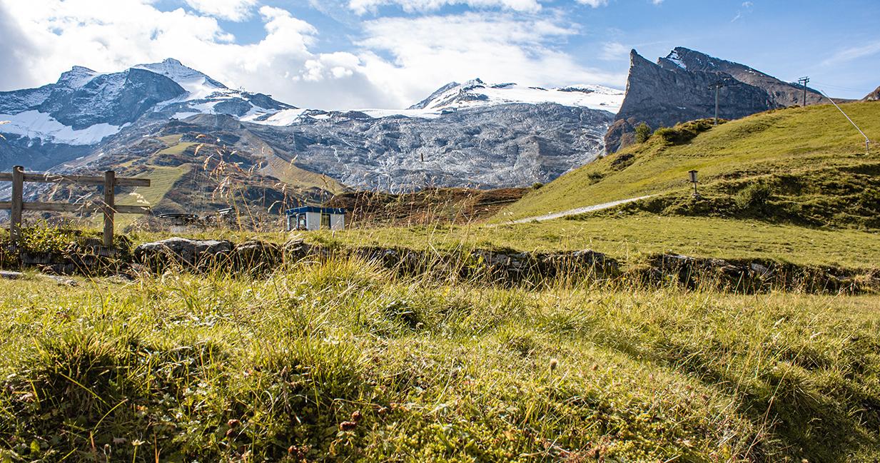 Wanderung zur Bichlalm in Hintertux, Zillertal