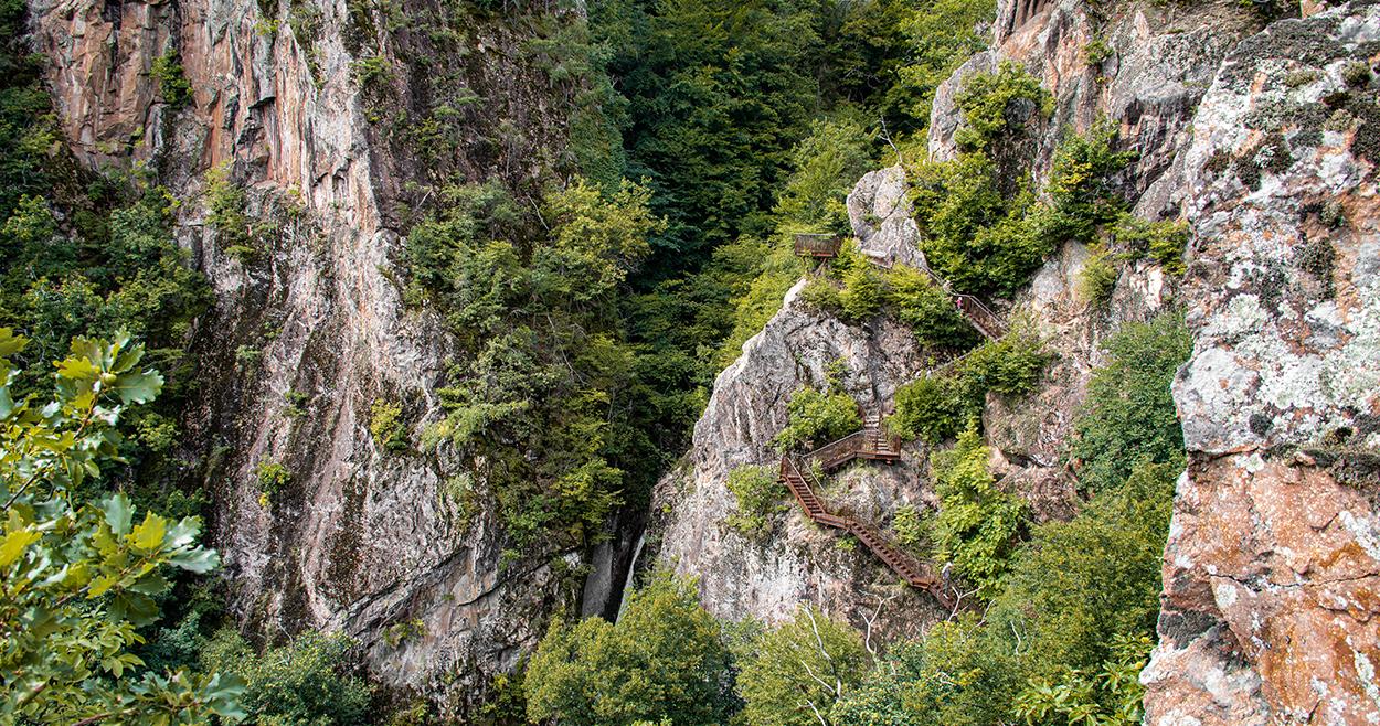 Die Rastenbachklamm, Kalterer See, Etschtal