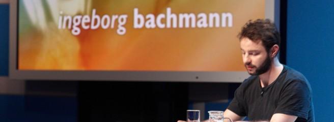 Andreas Stichmann beim Bachmann-Wettlesen, Klagenfurt 2012