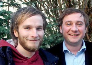 Finn-Ole Heinrich und Stevan Paul in Stuttgart, 2010