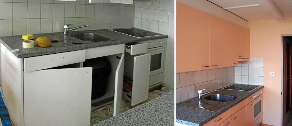 Küchensanierung, Küchenrenovation