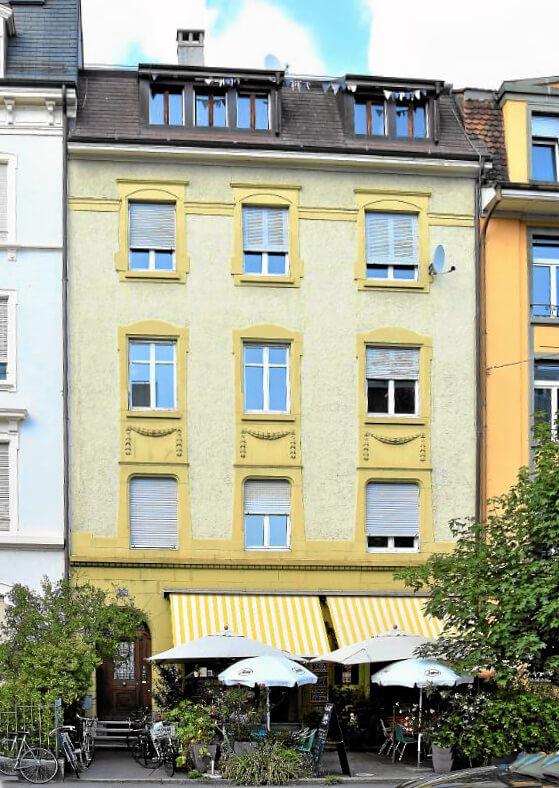 Verkauf Einfamilienhaus Basel nach Sanierung innen und teils aussen